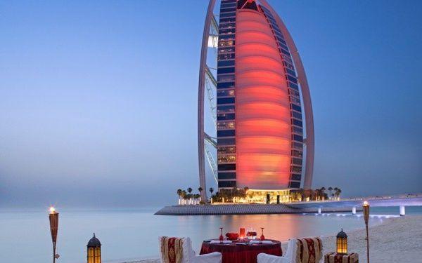 Burj Al Arab, Dubai, Spojené arabské emiráty, Dubai, letecky, snídaně v ceně4