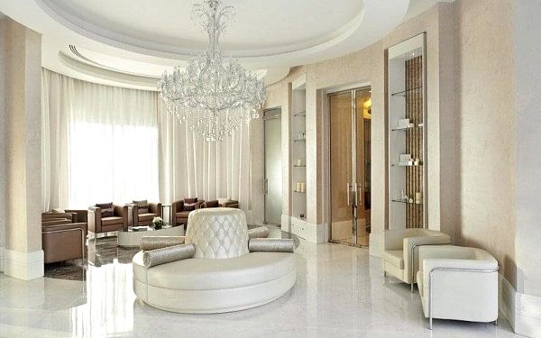Waldorf Astoria Dubai Palm Jumeirah, Dubai, Spojené arabské emiráty, Dubai, letecky, snídaně v ceně3