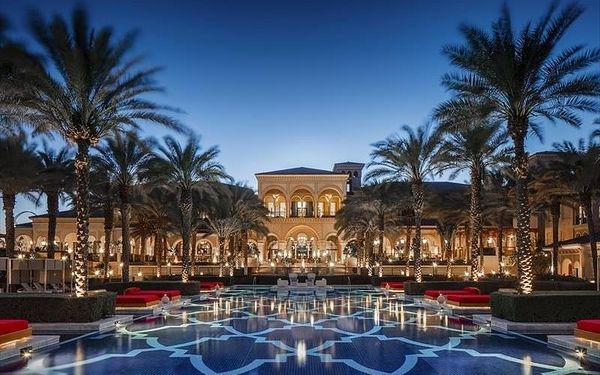 One and Only The Palm, Dubai, Spojené arabské emiráty, Dubai, letecky, polopenze2