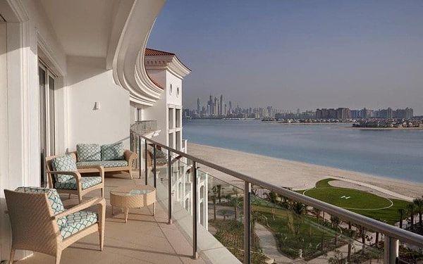 Waldorf Astoria Dubai Palm Jumeirah, Dubai, Spojené arabské emiráty, Dubai, letecky, snídaně v ceně5