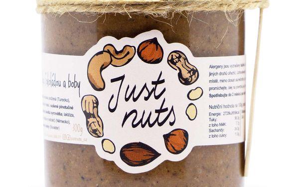 Arašídový krém s bílou čokoládou a malinami 300 g5