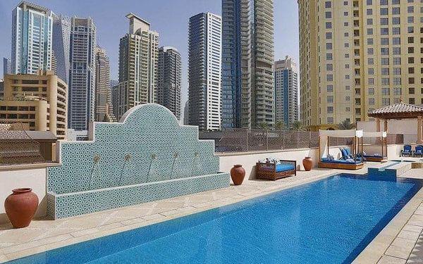The Ritz Carlton Dubai, Dubai, Spojené arabské emiráty, Dubai, letecky, snídaně v ceně4