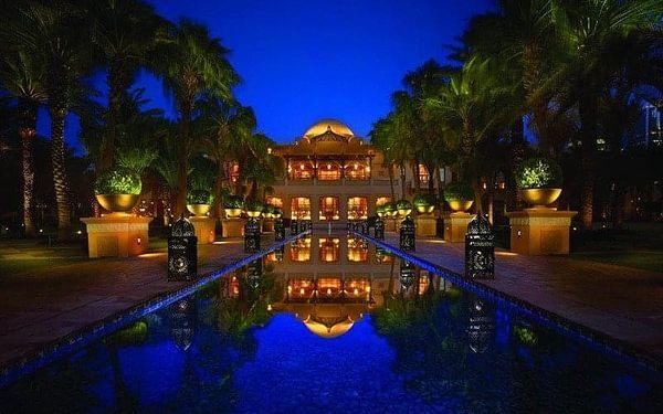 One and Only Royal Mirage, Dubai, Spojené arabské emiráty, Dubai, letecky, polopenze3