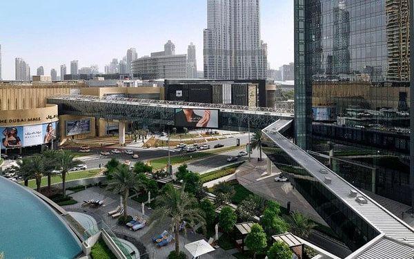 Address Boulevard, Dubai, Spojené arabské emiráty, Dubai, letecky, snídaně v ceně4