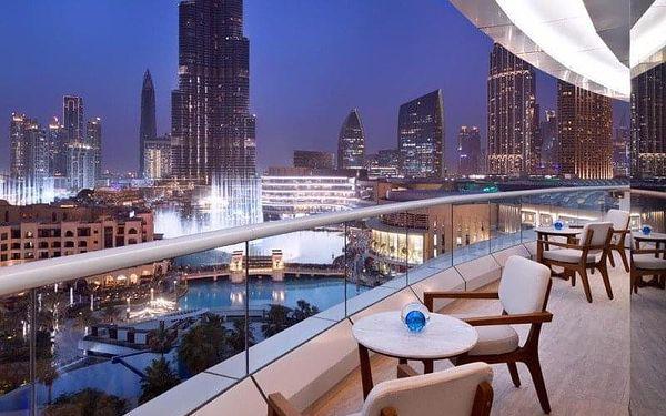Address Downtown Dubai, Dubai, Spojené arabské emiráty, Dubai, letecky, snídaně v ceně4