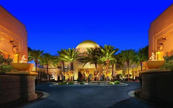 One and Only Royal Mirage, Dubai, Spojené arabské emiráty, Dubai, letecky, polopenze5