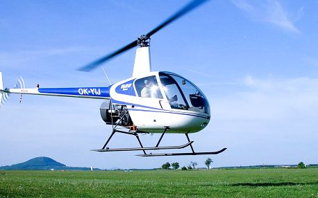 30 minut pilotem vrtulníku na zkoušku a instruktáž