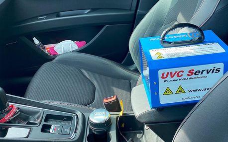 Dezinfekce ozónem: osobní auta i dodávky či přívěsy