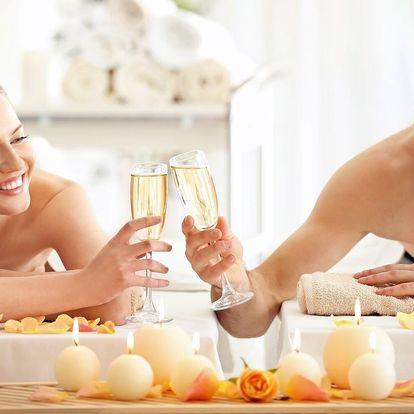 90min. relaxační párová masáž a lahev sektu