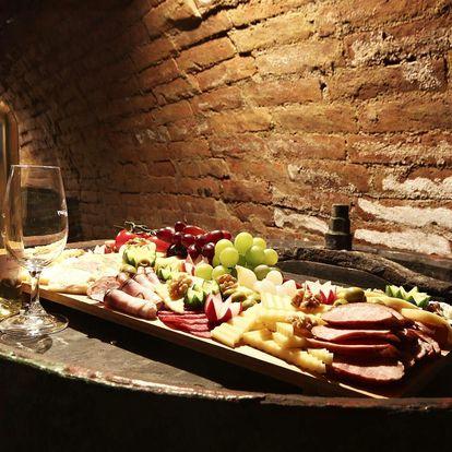 Vinařský pobyt ve všední dny na jižní Moravě s neomezenou konzumací vín
