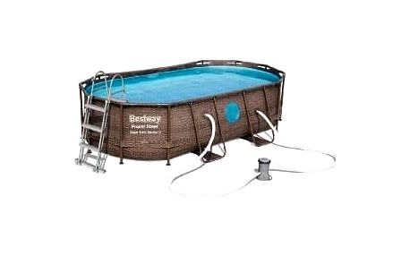 Bazén Power Steel Rattan Swim Vista 4,27 x 2,5 x 1 m -