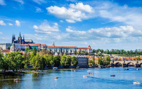 Pobyt v Praze: snídaně a večeře i vstupy do muzeí
