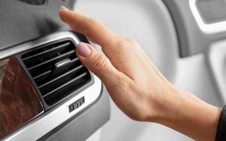 Kontrola a doplnění klimatizace i dezinfekce vozu