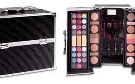 2K Super Model Beauty Train Case 122,6 g sada dekorativní kosmetiky pro ženy