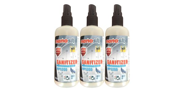 Sanitizér s nanostříbrem, 600 ml4