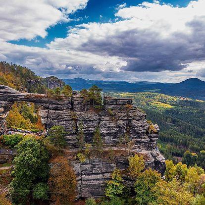 Výlet k Pravčické bráně i do Jetřichovických skal