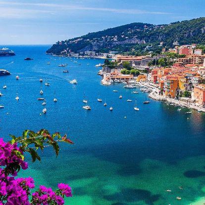 Francouzská riviéra busem či letecky: Nice i Monako