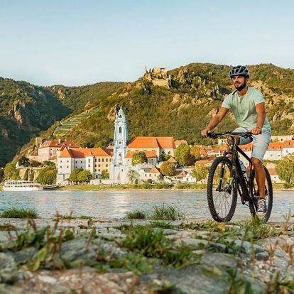 Cyklozájezd podél Dunaje. Melk, Krems a krásy UNESCO