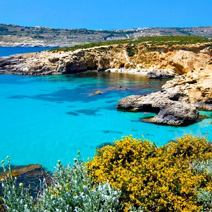Malta letecky: poznávací zájezd, 4 noci se snídaní