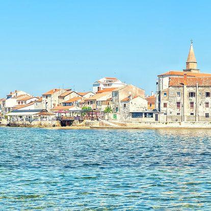 Zájezd na chorvatskou Istrii: doprava, jídlo i bazén
