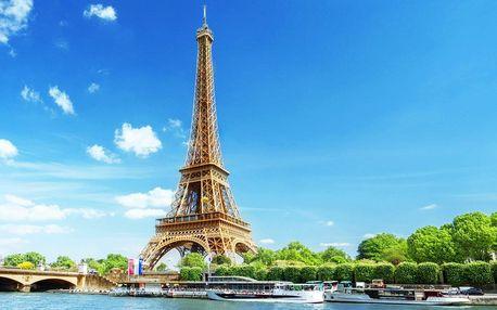 Zájezd do Paříže: letenka a 3 noci v hotelu