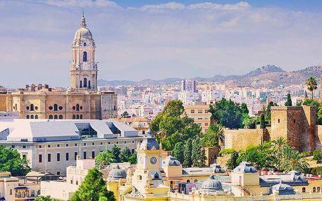Letecky do Andalusie: 7 nocí se snídaní a výlety