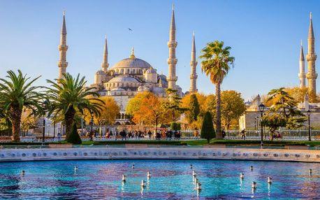 Istanbul letecky: 3 noci vč. snídaně a průvodce