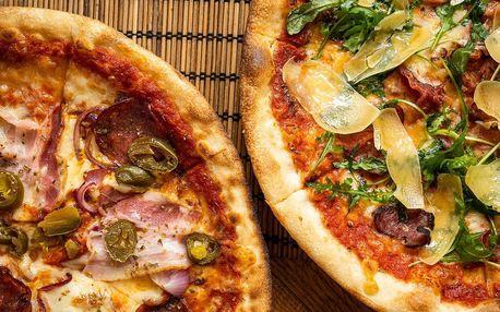 2x pizza dle výběru z celého menu