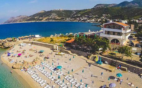 Apartmány v Černé hoře: polopenze, 200 m od pláže