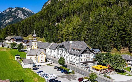 2–4 noci v rakouských Alpách: jídlo, wellness a slevy