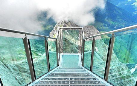 Adrenalinový výlet na vrcholky Alp na Dachsteinu