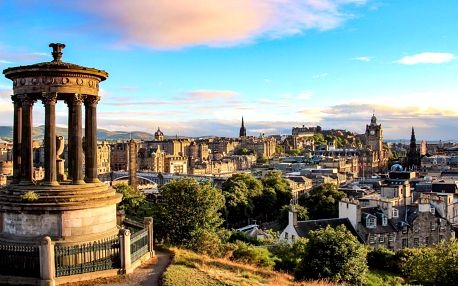Letecky na 4 noci do Skotska: program s průvodcem