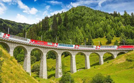 Cesta jedinečným alpským vlakem