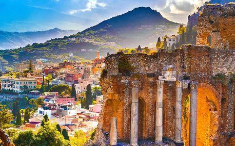 Zájezd na Sicílii, do Říma i Syrakus s polopenzí