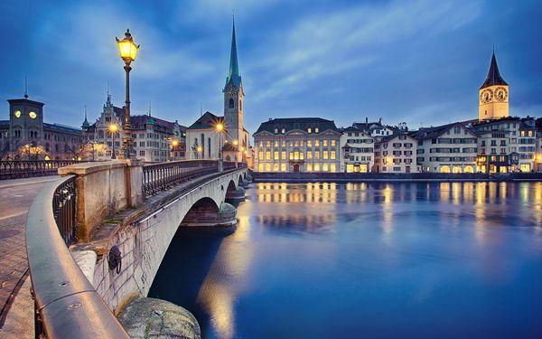 Víkend ve Švýcarsku: Rýnské vodopády i Curych | 1 osoba | 3 dny (0 nocí) | Pá 30. 7. – Ne 1. 8. 20215