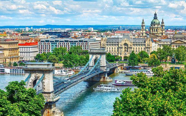 Celodenní Budapešť a relaxace v termálech   1 osoba   2 dny (0 nocí)   So 21. 8. – Ne 22. 8. 20215