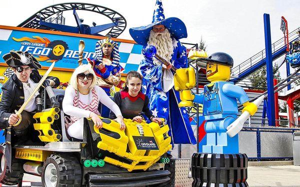 Dárková varianta (termín si vyberete později) – Výlet do Legolandu | 1 osoba | 1 den (0 nocí) | Období So 24. 4. – Út 28. 9. 20213