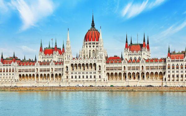 Výlet do Budapešti s relaxací v termálech