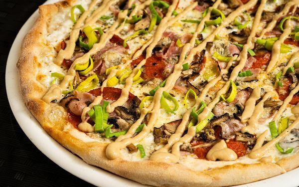 2x pizza (ø 32 cm) podle výběru5