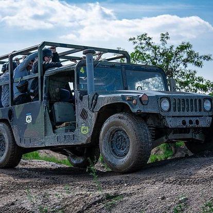 Humvee: Řízení + safari jízda na korbě
