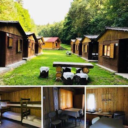 Slapy: Rodinné ubytovaní v chatech Sruby Relax Živohošt´