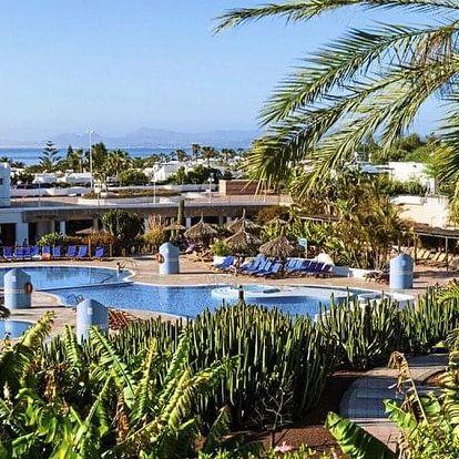Španělsko - Lanzarote letecky na 8 dnů, all inclusive