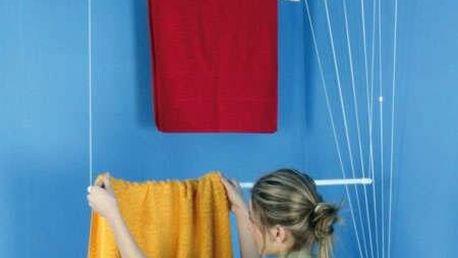 ALDO Stropní sušák na prádlo Ideal 6 tyčí 220 cm