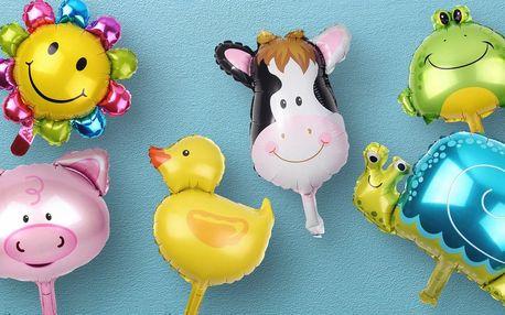 Dětské nafukovací balonky: malá i velká zvířátka