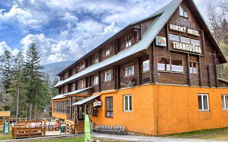 Nízké Tatry: pobyt se snídaní v horské chatě Trangoška