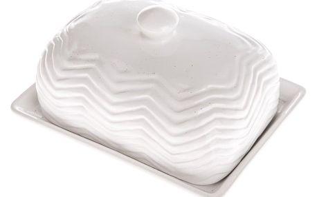 Keramická máslenka, 16,5 x 12,5 x 9 cm