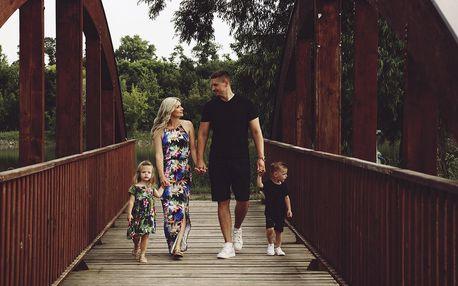 Focení v exteriéru: těhotenství, rodina a děti