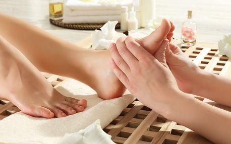 45 minut reflexní masáže nohou vč. aromaterapie