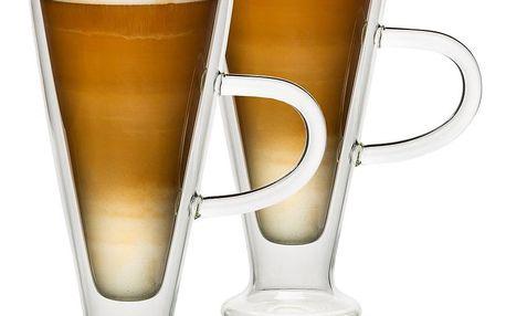 4home Termo sklenice Latte Elegante Hot&Cool, 230 ml, 2 ks