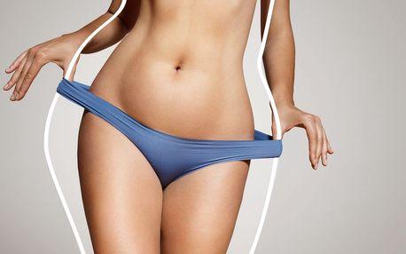 Účinná injekční redukce tuku stehen či bříška